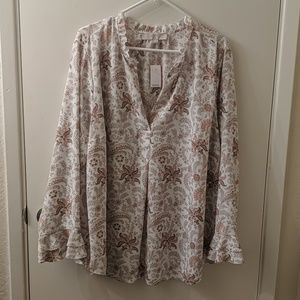New LOFT blouse